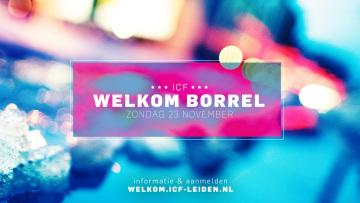 Welkom Borrel